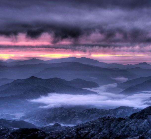 Landscape photography tips - use a tripod.
