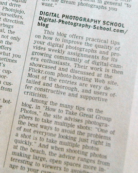 Digital Photography School – As Featured in the Wall Street Journal