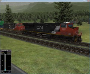 CN 2304 Train Simulator