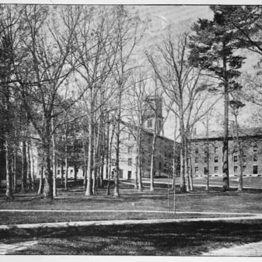 "Lovell, John L., 1825-1903, ""Amherst College campus and grove,"" Digital Amherst, accessed July 12, 2017, http://www.digitalamherst.org/items/show/172."
