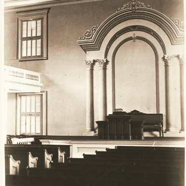 "Lovell, John L., 1825-1903, ""Interior of Johnson Chapel at Amherst College,"" Digital Amherst, accessed July 12, 2017, http://www.digitalamherst.org/items/show/247."