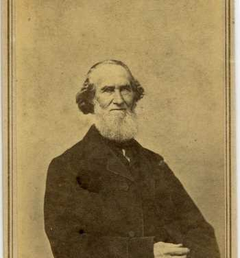 Lovell, J. L. (John Lyman), 1825-1903. Uncle Luke Sweetser, ca. 1864. Yankee Publishing Company Records (MS 732). Special Collections and University Archives, University of Massachusetts Amherst Libraries.