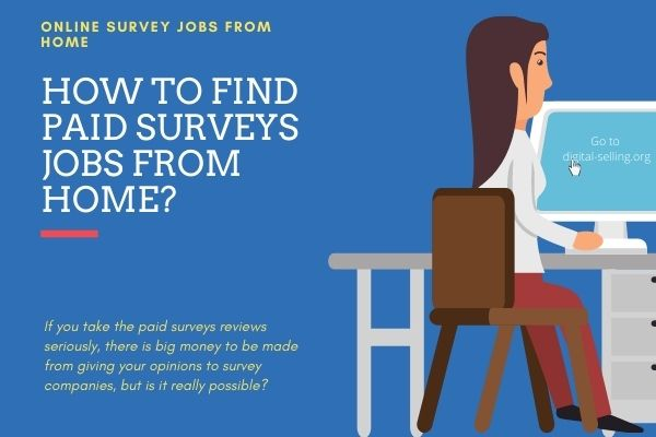 Paid surveys jobs
