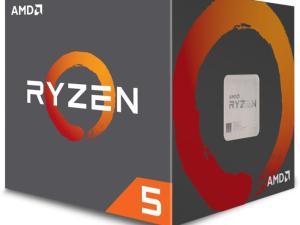 ПРОЦЕСОР AMD RYZEN 5 1600 6-CORE 3.2 GHZ (3.6 GHZ TURBO) 19MB/65W/AM4/BOX