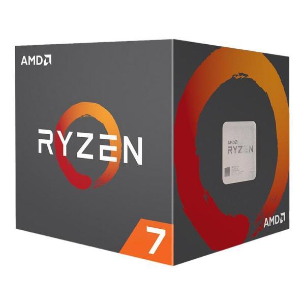ПРОЦЕСОР AMD RYZEN 7 2700X 8-CORE 3.7GHZ (4.3 GHZ TURBO), 20MB/105W/AM4/FAN