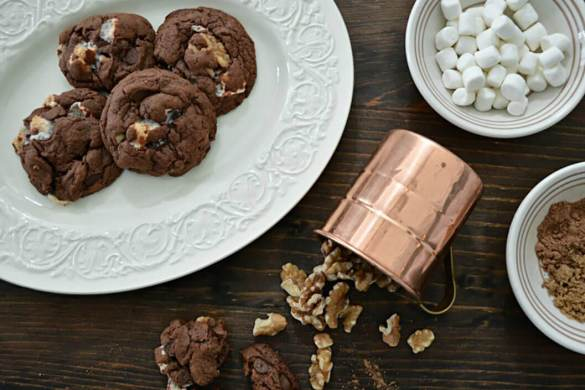 42. Rocky Road Chocolate Cookie Christmas Recipe