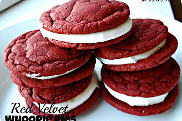 82. Red Velvet Whoopie Pies Christmas Recipe