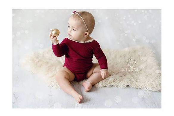 78. Newborn Romper And Headband Set (2)