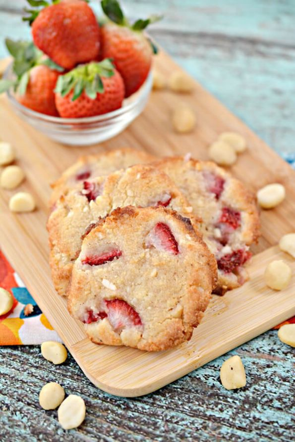 1.keto Cookies Low Carb Strawberry Macadamia Nut Cookie Idea Quick Easy Ketogenic Diet Recipe Completely Keto Friendly 1263
