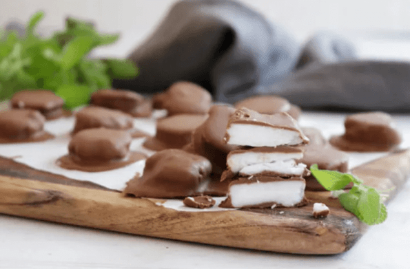 3 Step Keto Peppermint Patties Perfect Keto