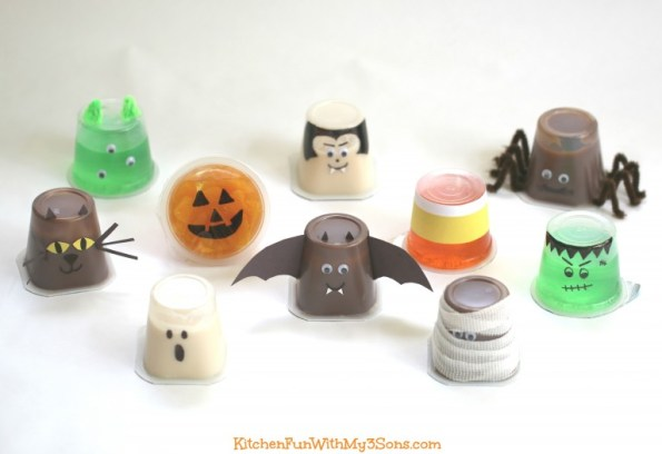 10. Pudding, Fruit, And Jello Cups Easy Hallowen Food Ideas Digital Train