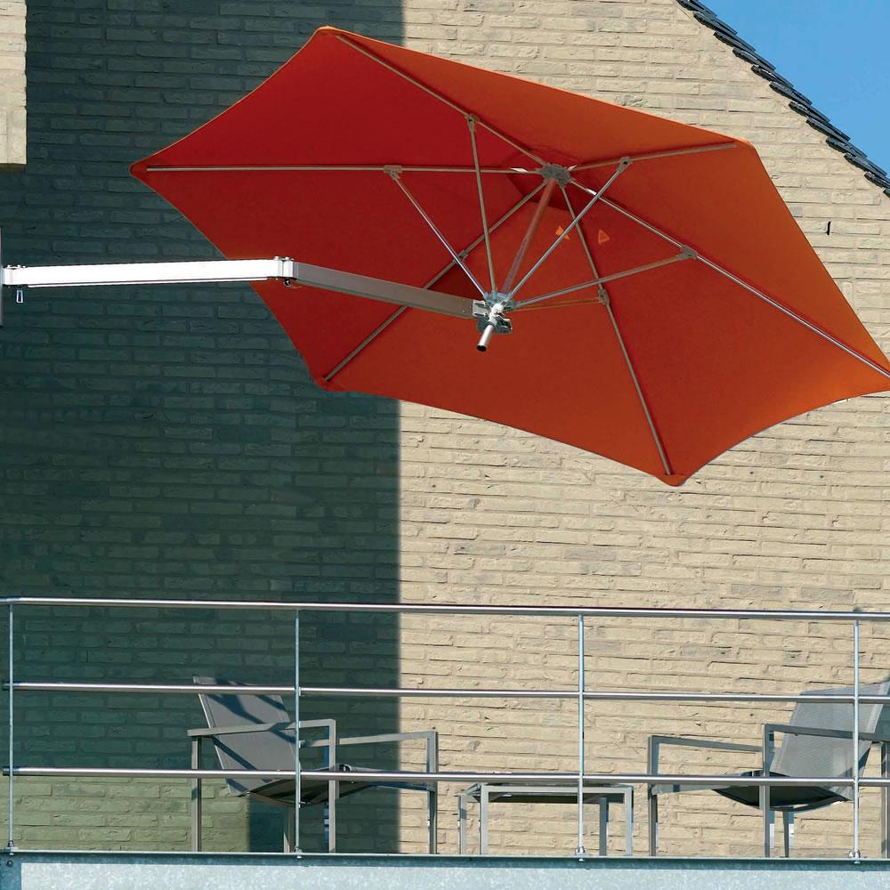 the wall mounted patio umbrella
