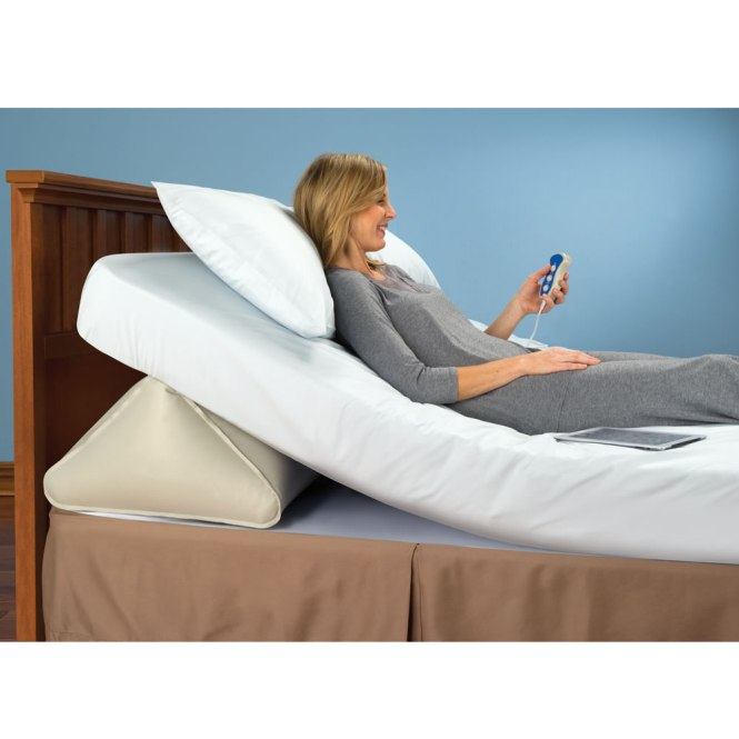 The Remote Controlled Adjule Incline Mattress Wedge