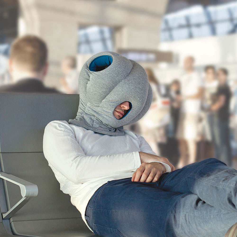 Your Airplane Neck Pillow Has Nothing On This Sample