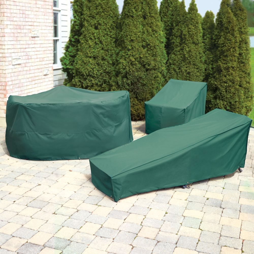 The Better Outdoor Furniture Covers Lounge Chair Cover Hammacher Schlemmer