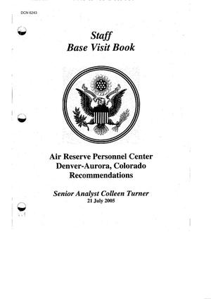 Base Visit Book - Air Force - Air Reserve Personnel Center ...