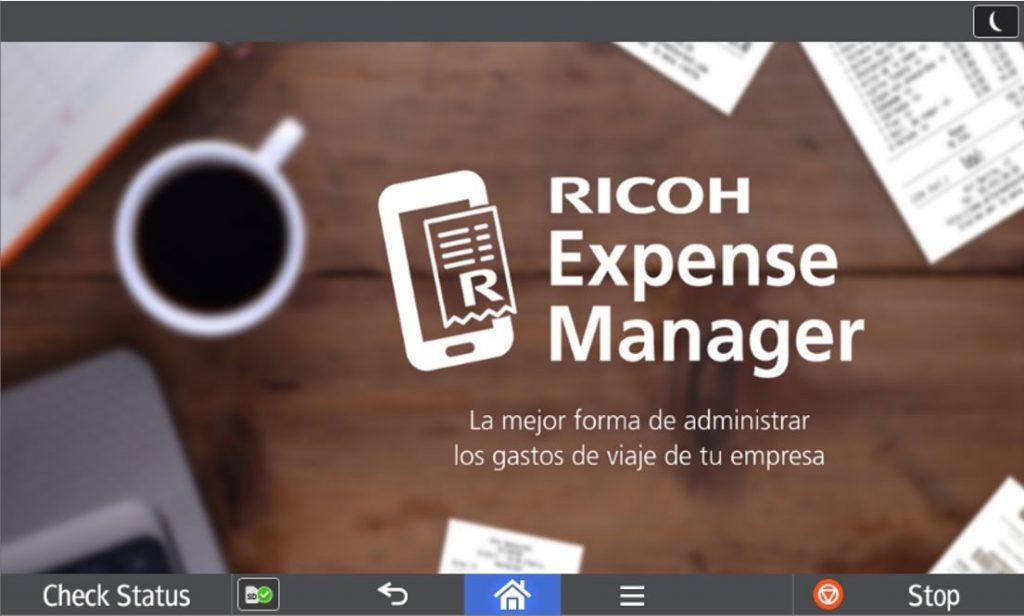 Ricoh Expense Manager_gastos de viaje