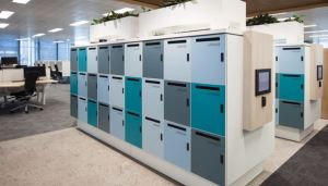 Smart lockers Ricoh