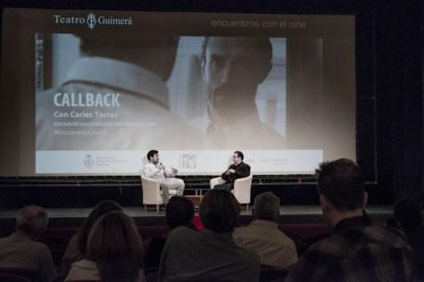 Coloquio con Carles Torras, director de 'Callback'.