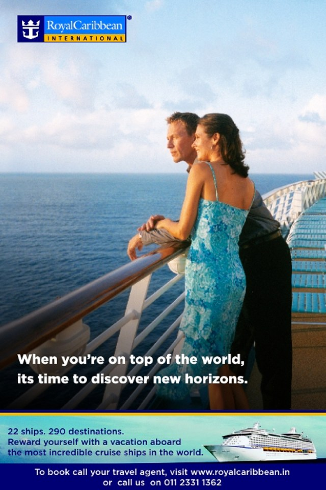 New Horizons - Royal Caribbean International Campaign Ad