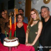 Esteffany Urdaneta fue objeto de una celebración sorpresa en su cumpleaños 21