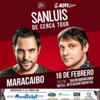 ¡SanLuis vuelve a Maracaibo con «De cerca tour»!