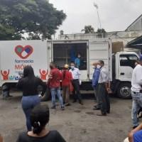 Cuatro farmacias móviles se inauguraron en Caracas