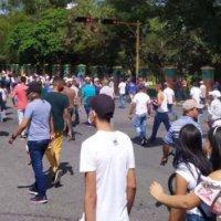 Fuerte represión policial acaba con protestas ciudadanas en Nirgua