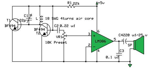 Pocket size FM receiver