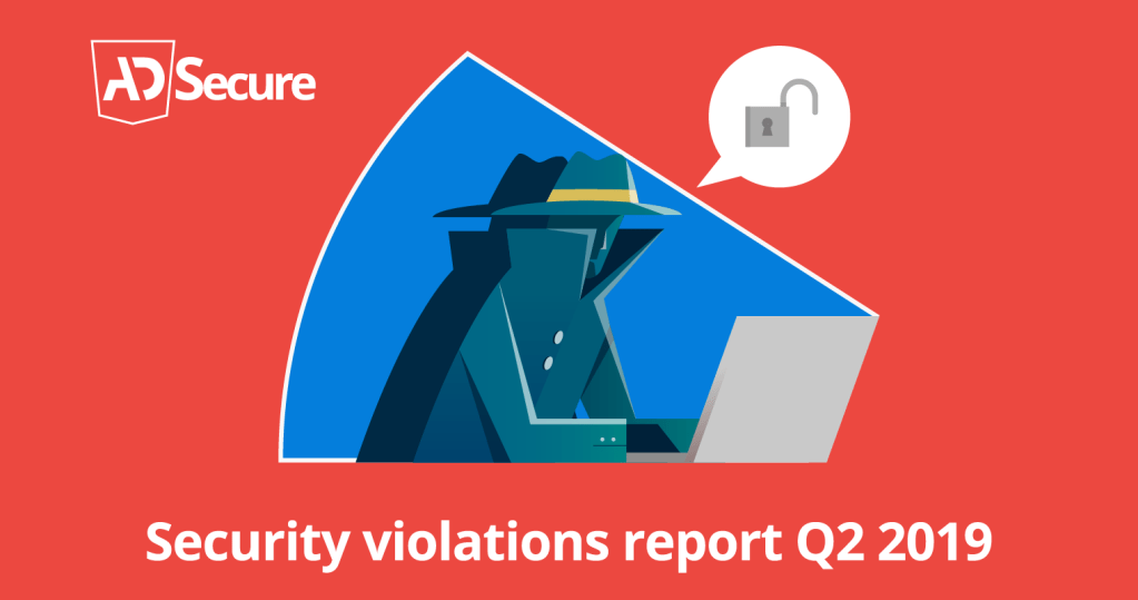 AdSecure Security Violations report