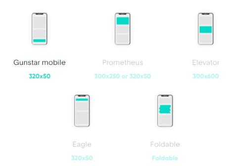 next millenium mobile ad units