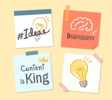 A content strategy relies on a good plan and great ideas