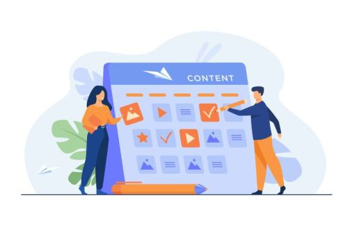 Build time to create an effective content strategy