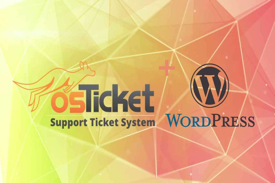Integration of osTicket with WordPress Website