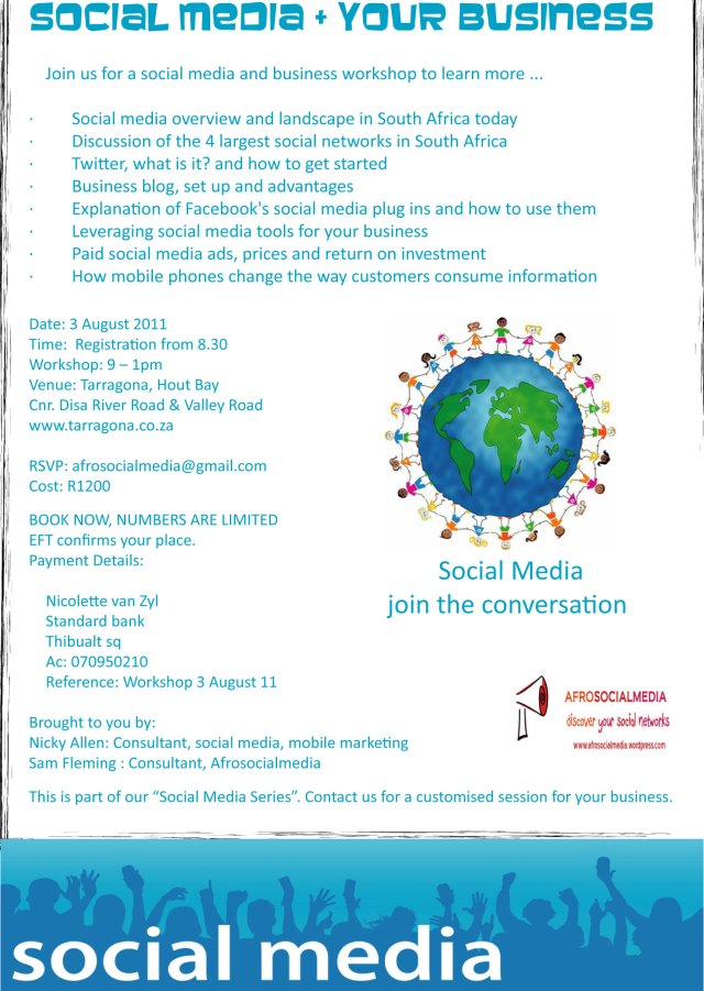 SME Social Media workshop
