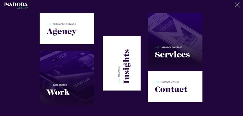 isadora-website-design