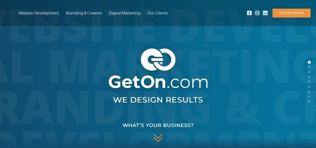 geton agency for tourism industry