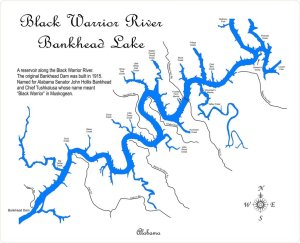 Bankhead Lake Diagram | Digital AlabamaDigital Alabama