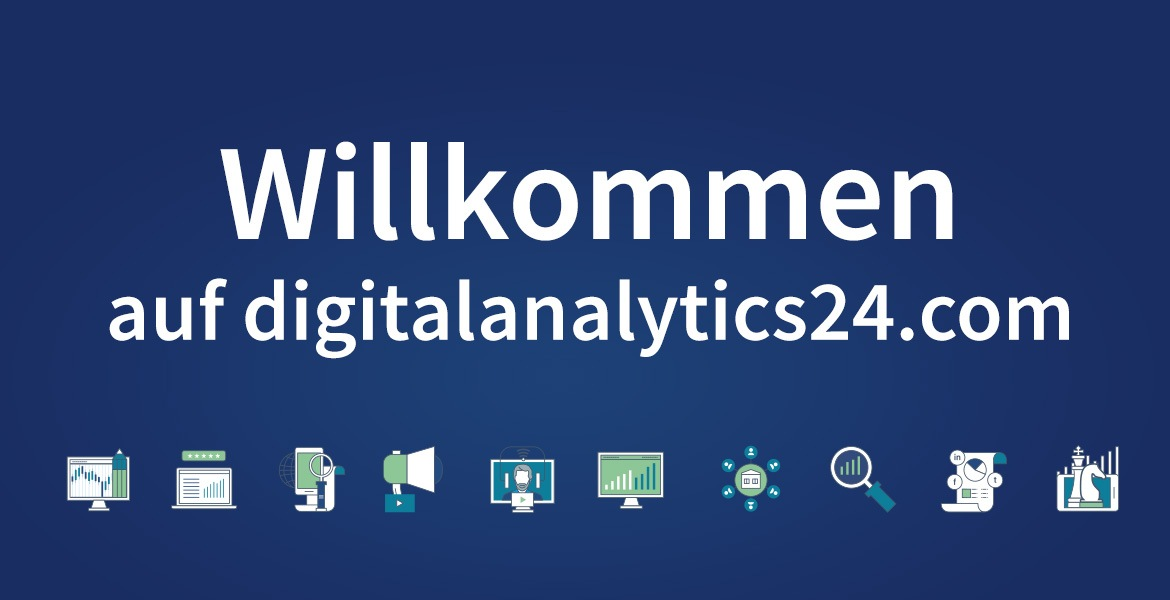 digitalanalytics24.com Main Visual mit Icons
