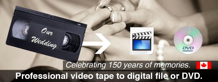 Video Tape conversion Regina Saskatchewan
