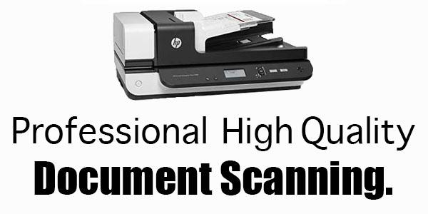 Professional Quality Document Scanning Regina