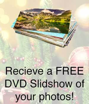 Receive a FREE DVD slideshow with Bulk Photo Scanning