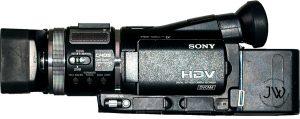 Sony HVR A1U camcorder rental regina