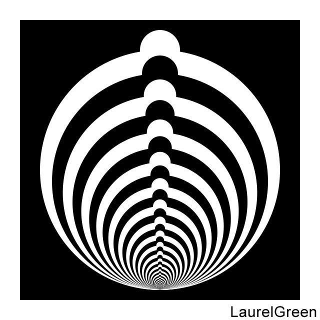 some bumpy abstract circles