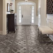 faux wood flooring for every space at
