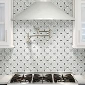 daring kitchen backsplashes daltile