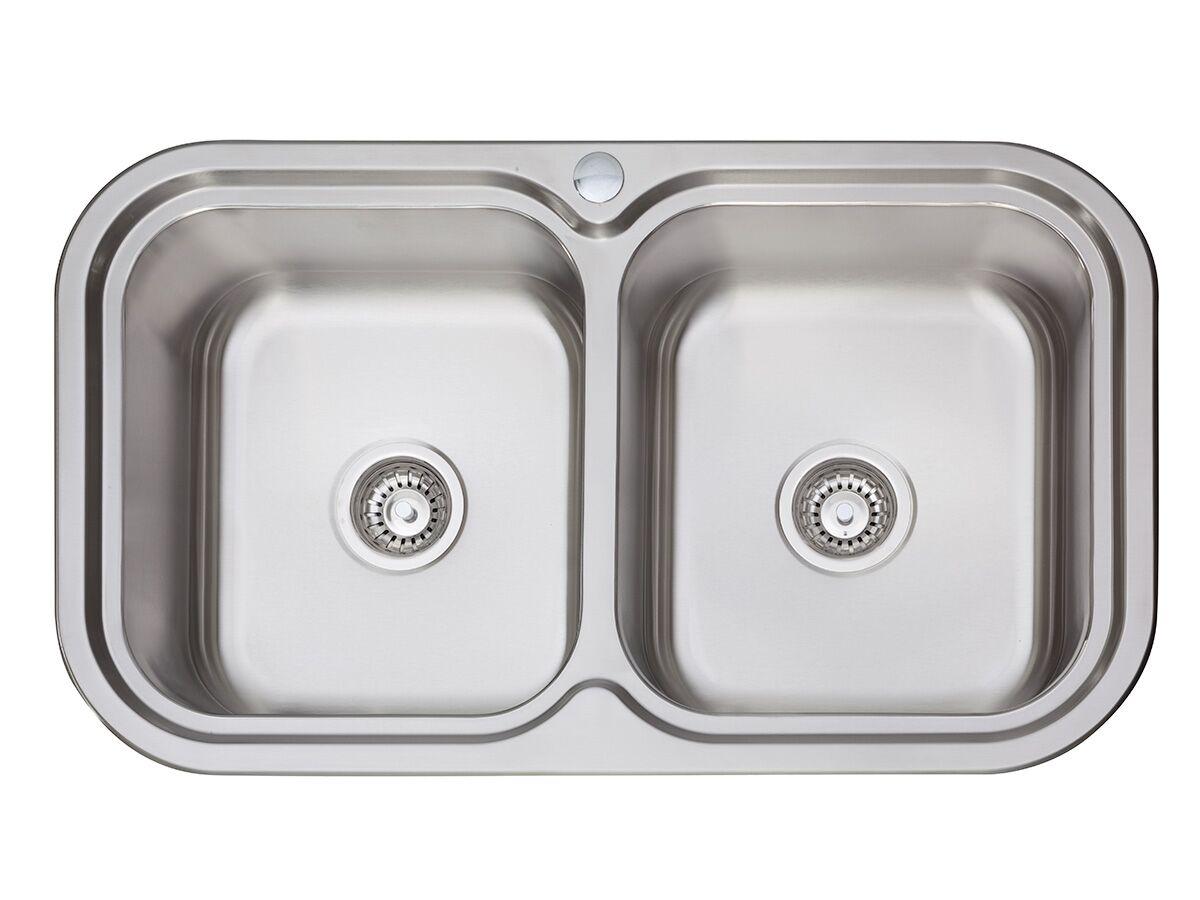 afa flow double bowl undermount inset