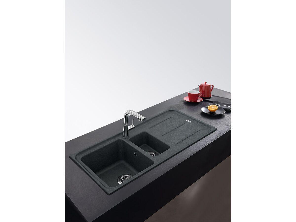 franke impact granite 1 25 bowl sink