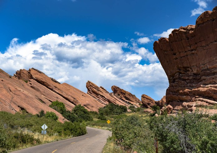 Road leading to Red Rocks | Morrison, CO. | 09/05/19 | Photo: ©Pix Meyers 2019