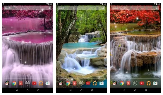 Aplikasi Waterfall Live Wallpaper